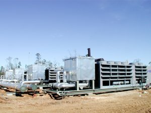 1000+ Tons Refrigeration on a Mainline Station