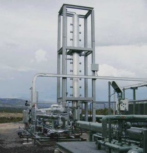 Stabilization Unit, CB-R Process Skid